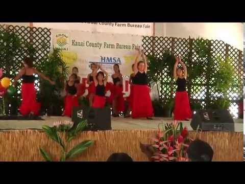 Aloha Dance Studio - Kauai County Farm Fair entertainment.