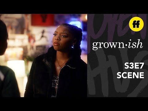 grown-ish Season 3, Episode 7   Jazz And Sky Argue About Jazz's Dedication To Track   Freeform