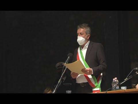 Avezzano - Primo consiglio comunale della nuova Giunta Di Pangrazio