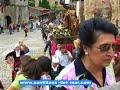 Fiesta de Santa Juliana en la villa medieval de Santillana del Mar en Cantabria.