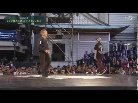 taisuke - Red Bull BC One 2013 Asia Pacific Qualifier in Fukuoka, Japan Taisuke (The Flooriorz / RBBC1AS / MZK) vs Leonard (Underone Crew) Judges: Ynot (Rock Steady Cr...