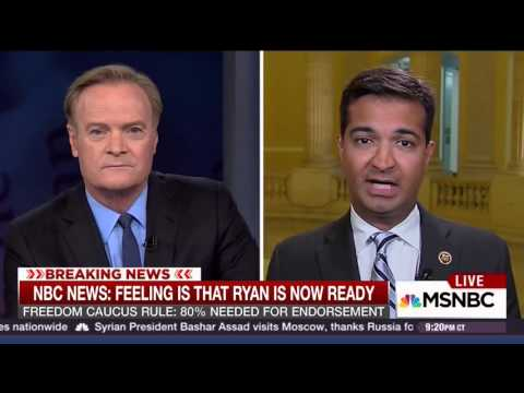 """Rep. Curbelo on """"The Last Word"""" with Lawrence O'Donnell MSNBC"""