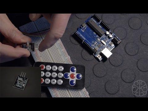 Using Infrared sensor & IR Remote control with an Arduino - Tutorial