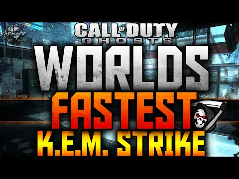 Strike - Hope you enjoyed the Fastest Core KEM Strike in COD: Ghosts! ▻KEM Strike by: http://www.youtube.com/ChainFeeds Follow KARNAGE on Twitter! ▻ http://bit.ly/QM1A8C Click Here to Subscribe!...