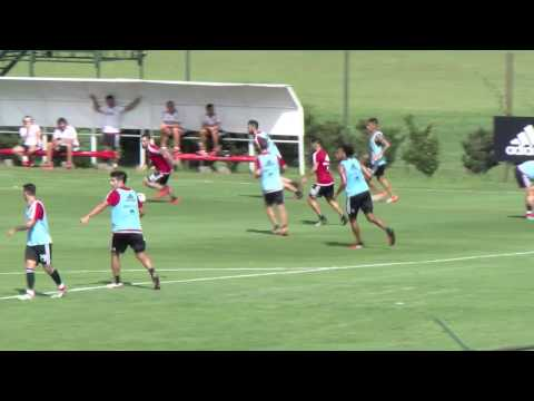 Entrenamiento en River Camp (22/02)