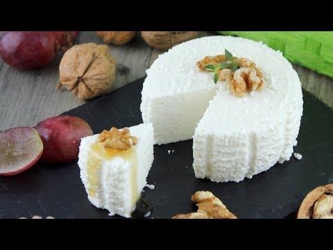 Videos caseros - Cómo hacer queso fresco o requesón casero sin lactosa