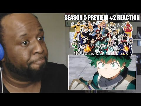 A PLUSULTRA 2ND LOOK! | Reaction | My Hero Academia 5th Season PV 2nd