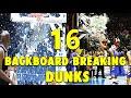 16 BackboardBreaking Powerful Dunks waptubes