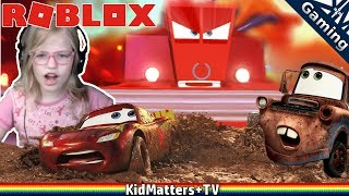 """CARS 3 MOVIE IN ROBLOX! Roxy plays """"SAVE LIGHTNING MCQUEEN!! Adventure Obby"""" by Shovelware Studios. """"Someone has sabotaged the Piston Cup and stolen Lightning's tires and gas! It's up to you and the residents of Radiator Springs to put things back in order! Play through over 40 stages with unique obstacles like Tractor Tipping and high speed Police Chases!""""SAVE LIGHTNING MCQUEEN!! Adventure Obby:https://www.roblox.com/games/861915059/CARS-3-SAVE-LIGHTNING-MCQUEEN-Adventure-ObbyAbout Roblox:Roblox.com:""""WHAT IS ROBLOX?ROBLOX is the best place to Imagine with Friends™. With the largest user-generated online gaming platform, and over 15 million games created by users, ROBLOX is the #1 gaming site for kids and teens (comScore). Every day, virtual explorers come to ROBLOX to create adventures, play games, role play, and learn with their friends in a family-friendly, immersive, 3D environment.""""Thanks for Watching another fun family friendly video! See you in the next video!!!https://www.youtube.com/c/KidMattersTVSubscribe for more, it's FREE! And Never Miss a video by Hitting that Bell Icon!▶︎https://www.youtube.com/c/KidMattersTV?sub_confirmation=1Watch More, from our Various Playlists:▶︎https://www.youtube.com/c/kidmatterstv/playlistsFollow Us On Social Media:▶︎Twitter: https://twitter.com/KidMatters_TV▶︎Facebook: https://www.facebook.com/kidmatterstv/▶︎Instagram: https://www.instagram.com/kidmatters_tv/Open Source Software we use:OBS Studio: https://obsproject.comGIMP (GNU Image Manipulation Program): https://www.gimp.orgBlender (3D graphics and video editing): https://www.blender.orgAudacity: https://www.audacityteam.orgHandbrake: https://handbrake.frOpenShot Video Editor: https://www.openshot.orgAbout KidMatters+TV:KidMatters+TV is a Family Friendly Gaming Channel for everyone of all ages to enjoy! Primarily focused on family audience.  Our videos are intended to be entertaining and educational for kids (family friendly/No swearing). Games, museums, adventures, crafts"""