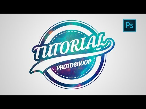 Photoshop | Logo Design Tutorial | Galaxy Logo