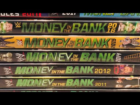 WWE Money In The Bank PPV DVD Collection Review
