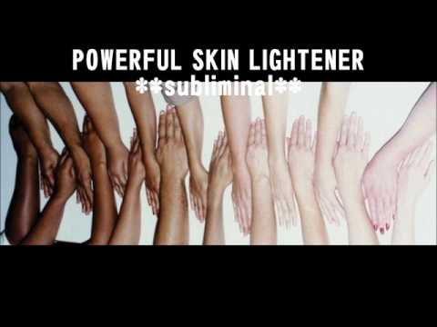 Powerful  Skin Lightener **subliminal**