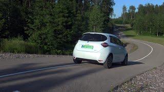 """AutoMedia Latvia"" tests: izmēģinam elektroauto ""Renault Zoe 2020"""