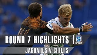 Jaguares v Chiefs Rd.7 2019 Super rugby video highlights | Super Rugby Video Highlights