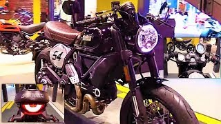 10. 2018 Ducati Scrambler Cafe Racer | First Look & Features Specification Walkaround | Crazy MotoWorld