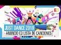 Just Dance 2019 Anuncio E3 lista De Canciones Parte 1
