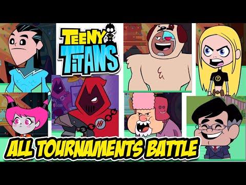 Teeny Titans - All Tournaments Battle - Walkthrough Gameplay