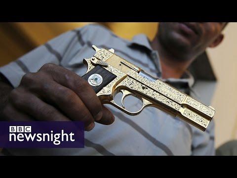 The Hunt for Gaddafi's Golden Gun (FULL FILM) - BBC Newsnight