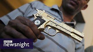 Video The Hunt for Gaddafi's Golden Gun (FULL FILM) - BBC Newsnight MP3, 3GP, MP4, WEBM, AVI, FLV Januari 2019