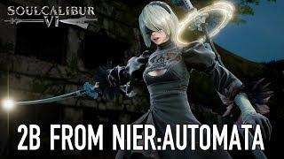 Annuncio 2B da NieR: Automata