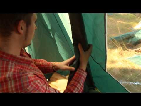 Палатка Greenell «Донегол 4». Видеообзор.
