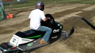 4. Stock Arctic Cat Crossfire 1000 R Factory Race Sled