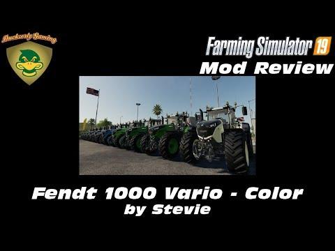 FS19 Fendt 1000 Vario by Stevie