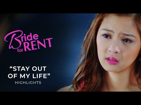 """Stay out of my life"" 