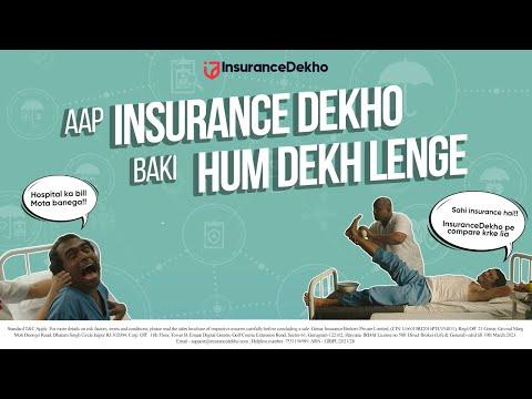 InsuranceDekho-Baaki Hum Dekh Lenge