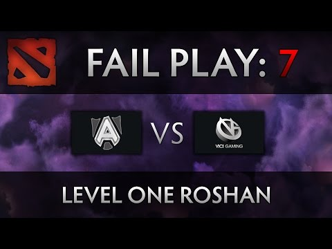 Dota 2 TI4 Fail Play – Alliance vs VG – Level One Roshan