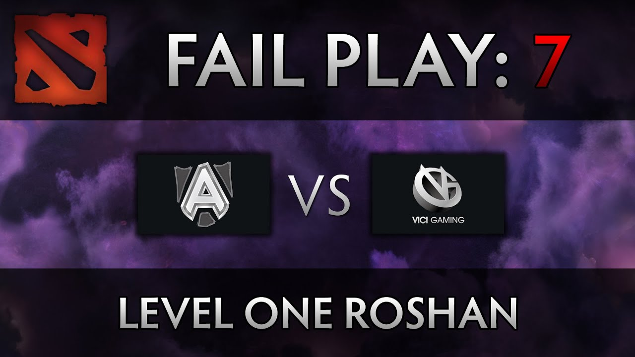 Dota 2 TI4 Fail Play – Alliance vs VG – Level One Roshan, xemgame