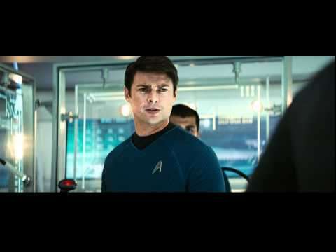 star - The greatest adventure of all time begins with Star Trek, the incredible story of a young crew's maiden voyage onboard the most advanced starship ever create...