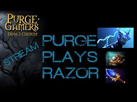 Dota 2 Purge plays Razor