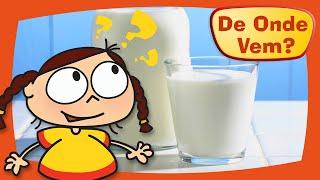 Kika quer saber de onde vem o leite.Kika descobre que o leite que tomamos é produzido pelas vacas e como funciona o processo de pasteurização.Inscreva-se no canal!https://www.youtube.com/c/DeOndeVemDe Onde Vem é uma produção da TV PinGuim, dos mesmos criadores de Peixonauta e O Show da Luna.