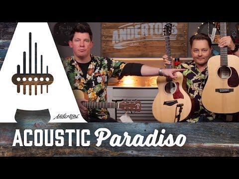 Acoustic Paradiso – Travel Guitar Shootout – Dreadnought Jr, GS Mini, Nomad Mini Saturn