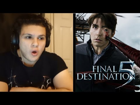 Watching FINAL DESTINATION 5 (2011) for the FIRST TIME!! (HORROR MOVIE REACTION)