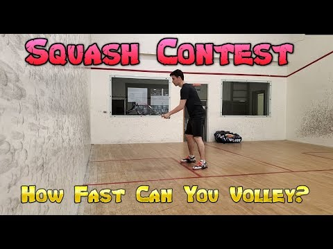 Contest - How Fast Can You Volley?