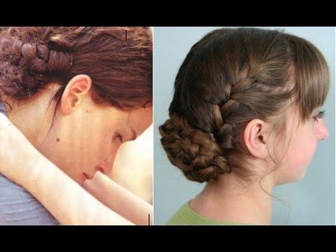 Katniss Reaping Braids   Hunger Games   Cute Girls Hairstyles