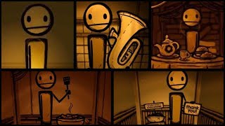 Bendy and the Ink Machine ALL TheMeatly locations