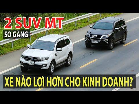 [VIDEO CŨ] So sánh Ford Everest MT và Toyota Fortuner MT - Xe nào lợi cho kinh doanh? | TIPCAR TV