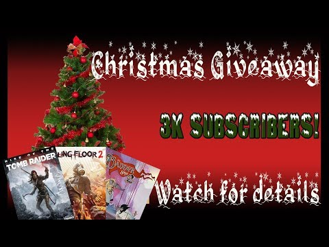 Christmas/3k Subscriber Giveaway!