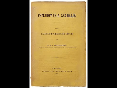 What is the book, Psychopathia Sexualis?
