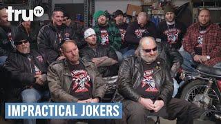 Video Impractical Jokers - Biker Gang Wedgie (Punishment)   truTV MP3, 3GP, MP4, WEBM, AVI, FLV Agustus 2018