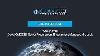 Walk-in from David OMODEI, Senior Procurement Engagement Manager, Microsoft