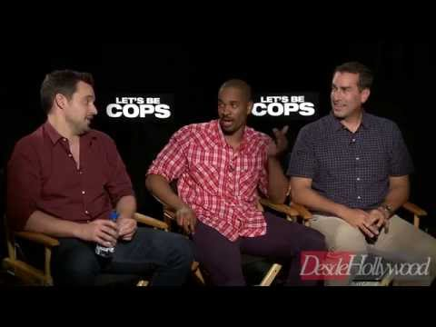 'Let's Be Cops' Exclusive -and Funny- Interview