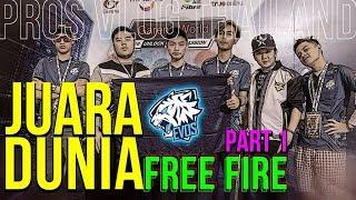 Video DETIK DETIK EVOS FREE FIRE JUARA DUNIA DAPET 1MILYAR!! PROS VLOG THAILAND #1 MP3, 3GP, MP4, WEBM, AVI, FLV April 2019