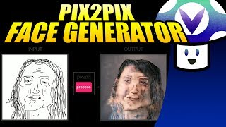 Vinny streams Pix2Pix: Face Generator for PC live on Vinesauce! ▻ http://fotogenerator.npocloud.nl/ Subscribe for more Full Sauce Streams ...