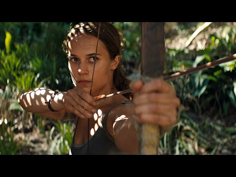Tomb Raider (2018) - Escape Scene [4K Ultra HD]
