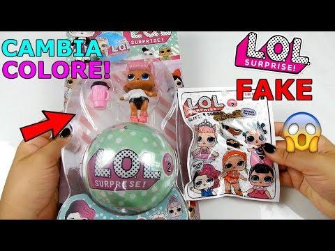 LOL SURPRISE FAKE PRESE IN EDICOLA! LOL FALSA che CAMBIA COLORE! ASSURDO! Iolanda Sweets (видео)