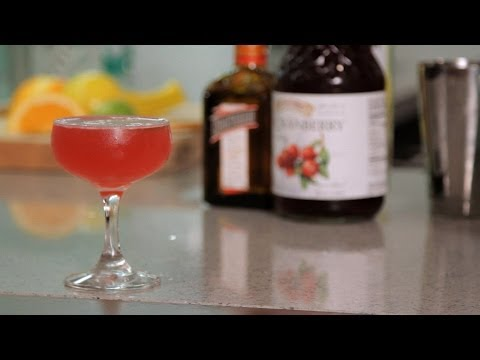 cosmopolitan - Watch more How to Make Cocktails videos: http://www.howcast.com/videos/510375-How-to-Make-a-Port-of-Call-Cocktail-Recipes Learn how to make a Cosmopolitan in...